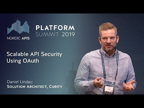 Scalable API Security Using OAuth