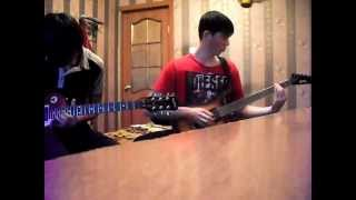 Black Veil Brides   Fallen Angels (dual guitar cover)