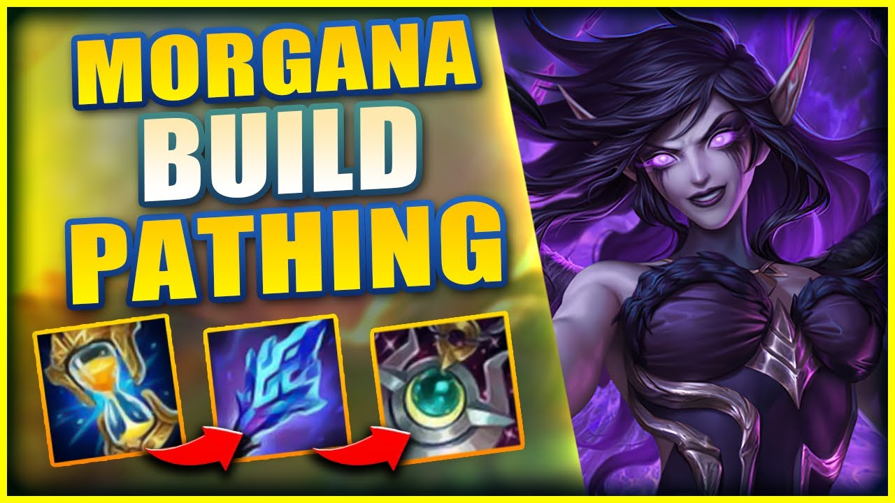Lohpally - BUILD ITEMS IN THIS ORDER TO TAKE OVER GAMES AS MORGANA - League of Legends