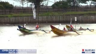 Balap Perahu Nelayan Pantai Logending