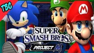 Sonic VS Mario and Luigi [Super Smash Bros Brawl: Project M ]