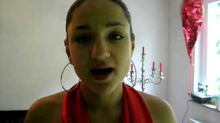 Alina singing Armin Van Buuren feat. Jennifer Rene `Fine Without You`