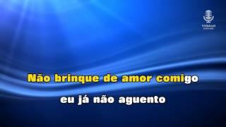 ♫ Karaoke NÃO BRINQUE DE AMOR COMIGO - Texas Band