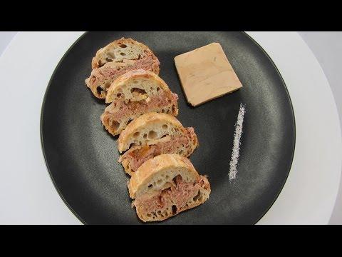 Vidéo Recette : le sandwich XXL au foie gras