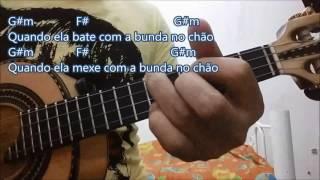 MC Kevinho - Olha a Explosão cifra e tablatura cavaco