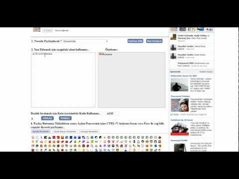 Facebook Hareketli Resim Paylaşma