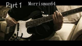 Isaac Hayes - Ellie's Theme - Bass notes lesson