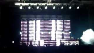 Tiesto @ Nessebar Stadium 2012 (The Wanted - Glad You Came (Bassjackers Club Mix))