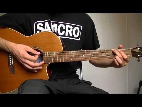 Comment jouer Wish you were here de Pink Floyd à la guitare 1/2