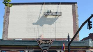 Watch Trinity Rep's new mural come to life!