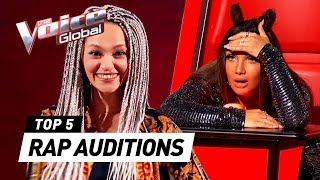 UNEXPECTED RAP auditions in The Voice