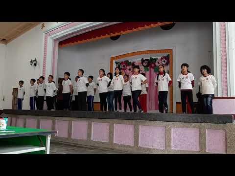 20181219旗山國小英語歌場比賽五年孝班 - YouTube