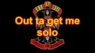 Guns n' Roses - Out ta get me (solo) - Marc Snow