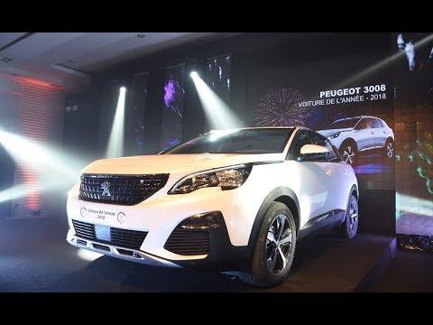 Video : Le Peugeot 3008 élu «Voiture de l'Année 2018 au Maroc»
