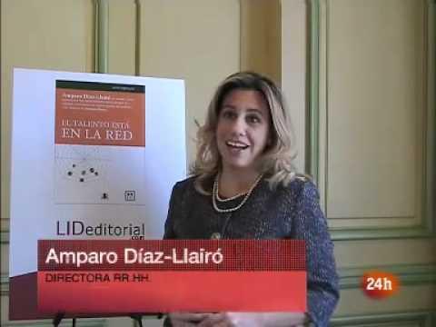 El talento esta en la red Amparo Díaz-Llairó TVE Canal 24 horas