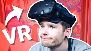 The VIRTUAL REALITY Elevator! (HTC Vive Virtual Reality)