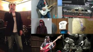 [HD]Shingeki no Kyojin OP [Guren no Yumiya] Band cover