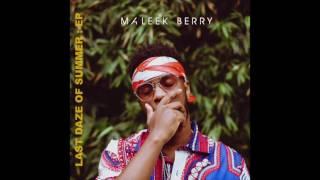 Maleek Berry - Kontrol (Extended) [Audio]