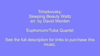 Sleeping Beauty Waltz - Euphonium-Tuba Quartet