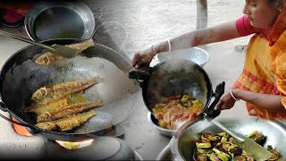 Bangladeshi simple village cooking blog || delicious fish curry recipe
