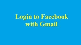 Login to Facebook with Gmail - Betdownload.com