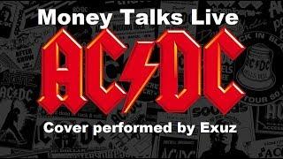 Money Talks Live-AC/DC (Guitar Cover - Exuz)