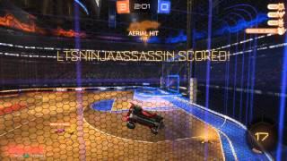 Hoops Aerial Goal - Rocket League