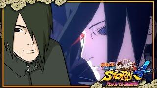 Adult Sasuke Uchiha NEW Footage! Adult Sasuke FULL MOVESET VS Kinshiki GAMEPLAY Road To Boruto Demo