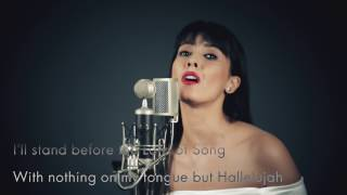 Alexandra Badoi - Hallelujah (live cover) / Leonard Cohen song