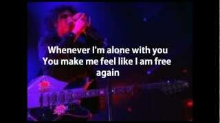 The Cure - Love Song (cover with lyrics)