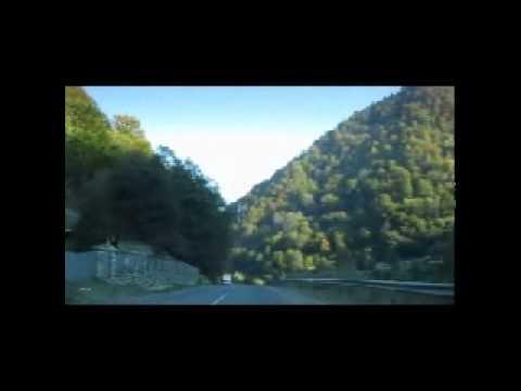 Fahrt durch die Transkarpaten vom Zentrum Europas nach Rachiv