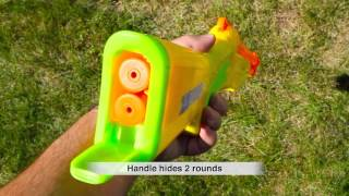 Buzz Bee Toys Gun Smoke Dart Blaster 51000