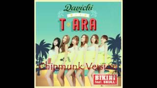 T-ara with Davichi - Bikini feat. SKULL [Chipmunk Version]