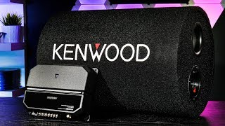 Kenwood P-W131TB - Tube Subwoofer/Amplifier Bass Package