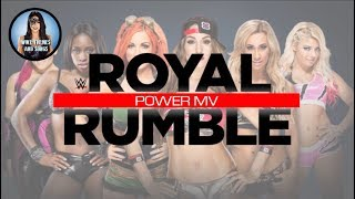 "Women's Royal Rumble 2018 MV ""Power"""