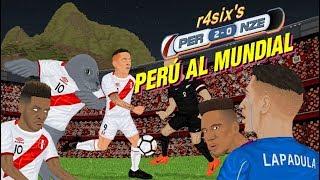 Parodia animada del Perú 2-0 Nueva Zelanda