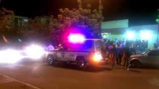 Chavistas encapuchados llegan al Pinar para amedrentar manifestación pacifica