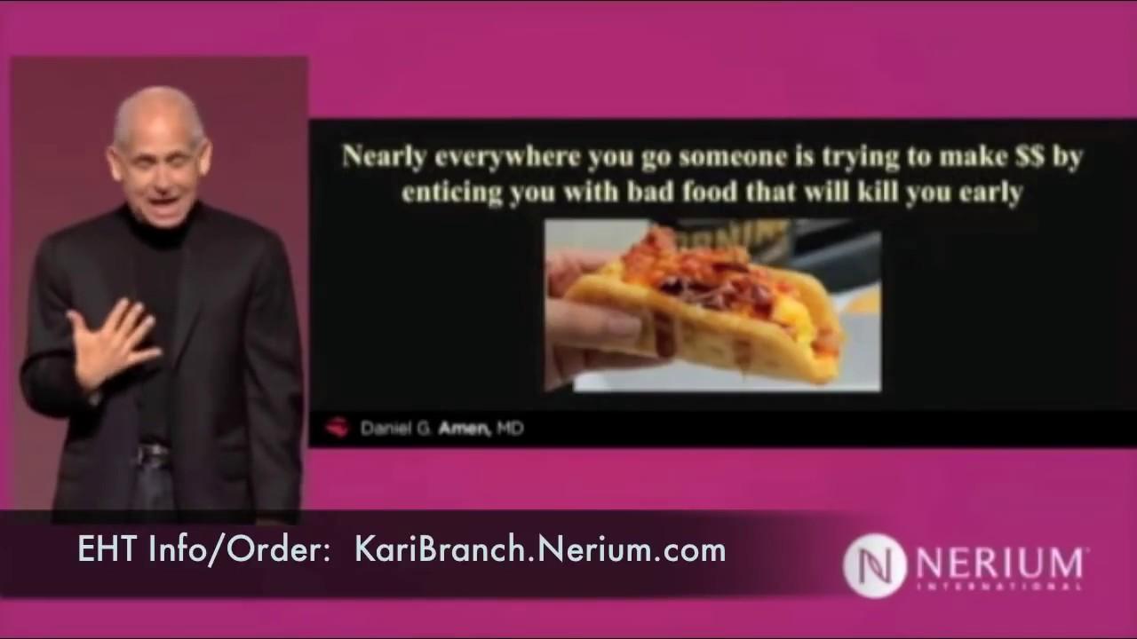 Dr. Daniel Amen – Be A Brain Warrior!