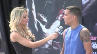 Valdez vs. Tamayo: Valdez Wants to Hurt Tamayo – Weigh-ins Interview