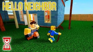 Привет сосед от подписчика | Roblox Hello Neighbor