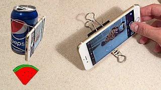 Простые штативы для ТЕЛЕФОНА *** DIY: Simple phone tripods