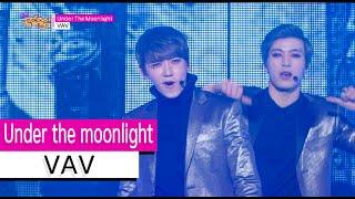 [HOT] VAV - Under the moonlight, 브이에이브이 - 언더 더 문라이트, Show Music core 20151114