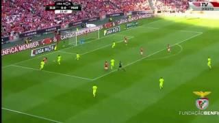 Benfica vs marítimo primeiro golo