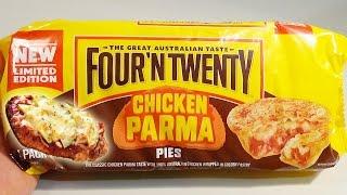 Four 'N Twenty Chicken Parma Pie Taste Test Limited Edition | Birdpoo Reviews