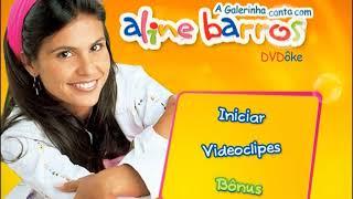 Menu - DVD A Galerinha Canta Com Aline Barros