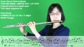 GARIBOLDI 가리볼디 Op.131 No.1 C Major - WANG Sung Ja 왕성자 - Flute Etude 플룻 에뛰드 - 도란도란 부산 레슨 앙상블 동호회 학원