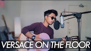 VERSACE ON THE FLOOR - BRUNO MARS (cover) by Hafizul Afiq