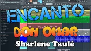 Don Omar - Encanto ft. Sharlene Taulé Instrumental