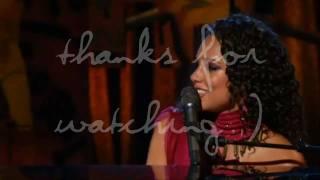 [HD] Alicia Keys - Unlugged Live Vocal Range B2 - G5