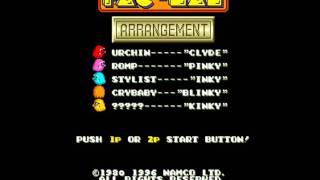 World 1 BGM - Original Pacman World - Pac-Man Arrangement Music